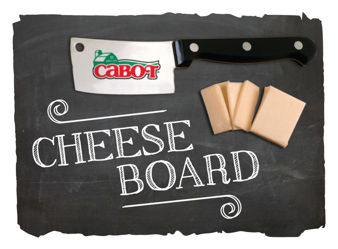 I'm a member of the Cabot Co-Op Cheese Board!