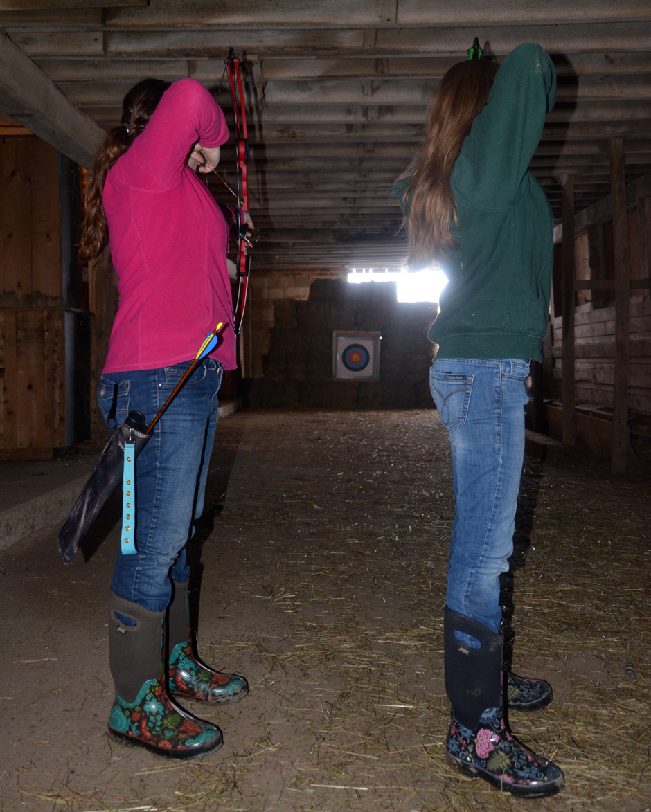Bank Barn Archery Range