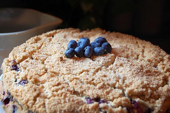 Farmgirl's Blueberry Buckle