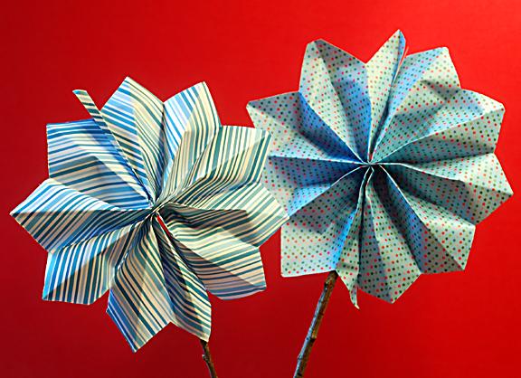 Firecracker pinwheel craft project
