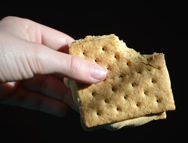 graham crackers, pudding