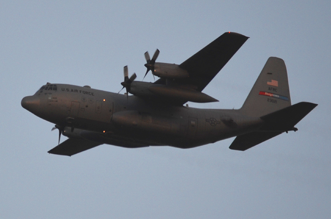 Youngstown Ohio Air Force plane