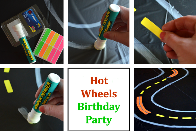 Hot Wheels, Matchbox Cars or race car birthday party theme ideas for boys