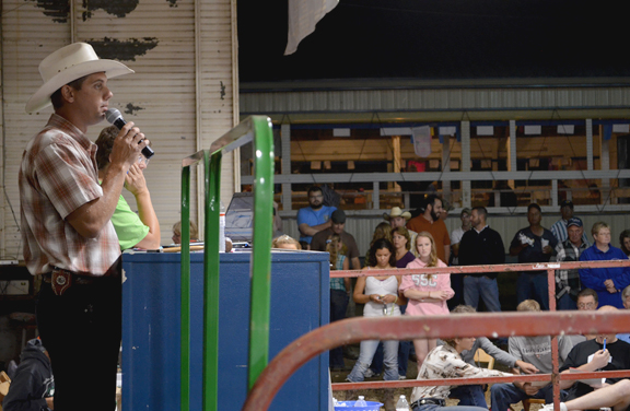 Carroll County Fair Jr. Livestock Auction, Ohio