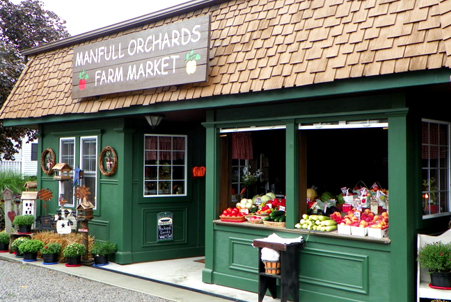 Manfull Orchards Farm Market in Augusta, Ohio