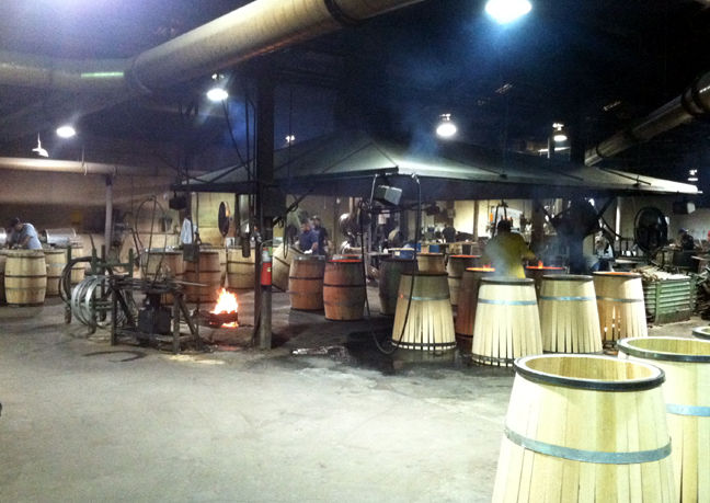 Kelvin Cooperage, Louisville, KY - wine barrels