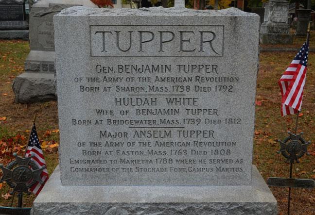 Grave of General Benjamin Tupper