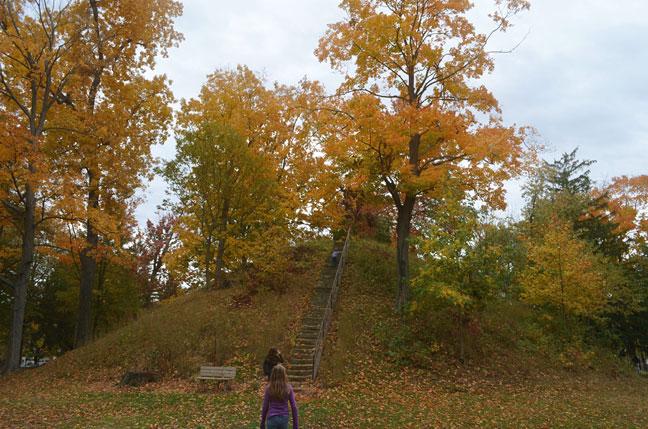 Mound Cemetery, Marietta, OH