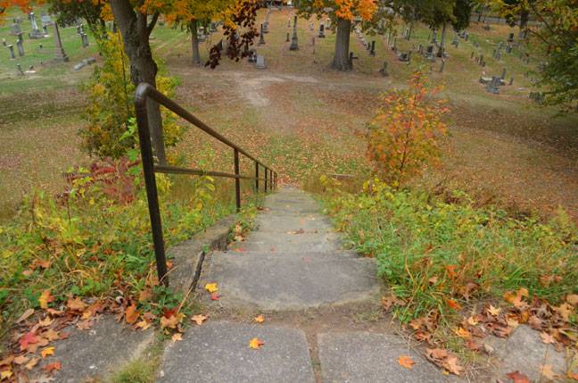 Mound Cemetery, Marietta Ohio