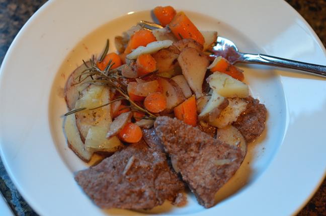 Skillet Round Steak Supper