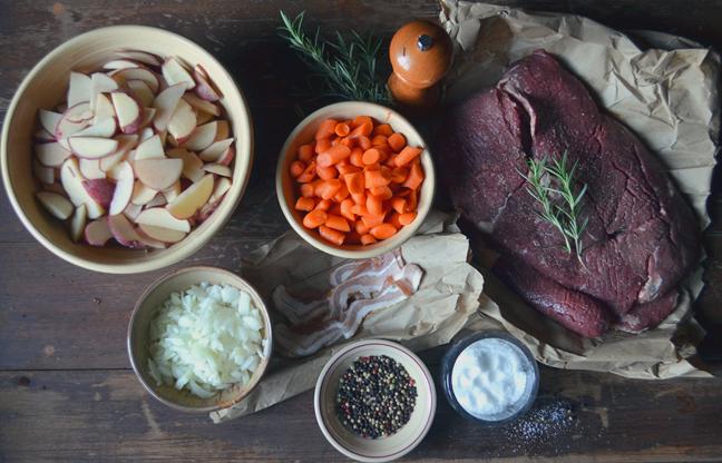 round steak ingredients