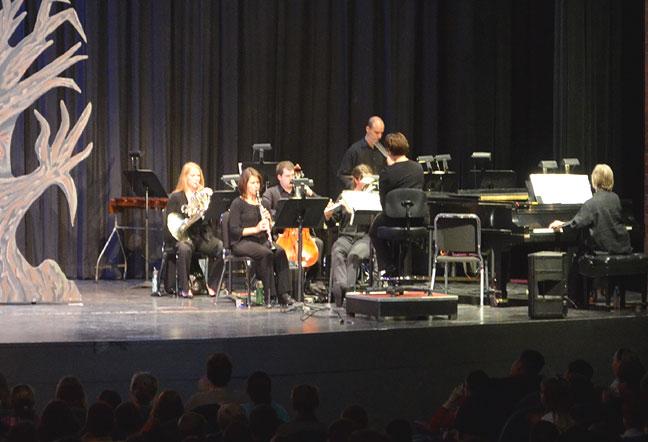 Chamber orchestra - Canton Sympony, Ohio.