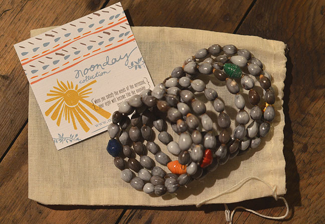 Noonday Collection seed bracelet