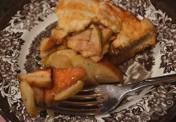 Bourbon Apple Pear Tart