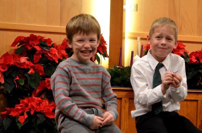 Ornery choir boys