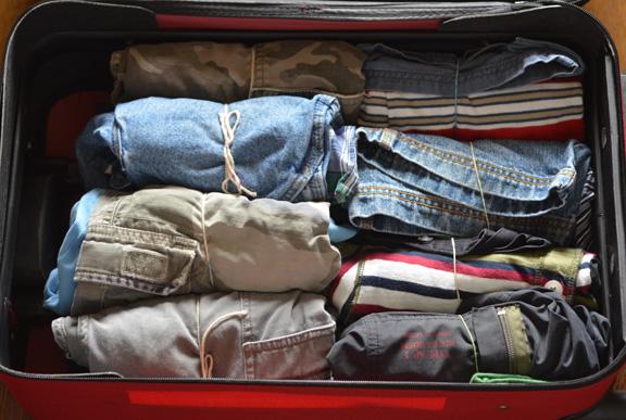 space saving packing