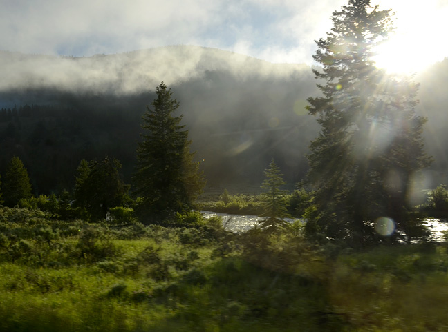 Yellowstone in early morning