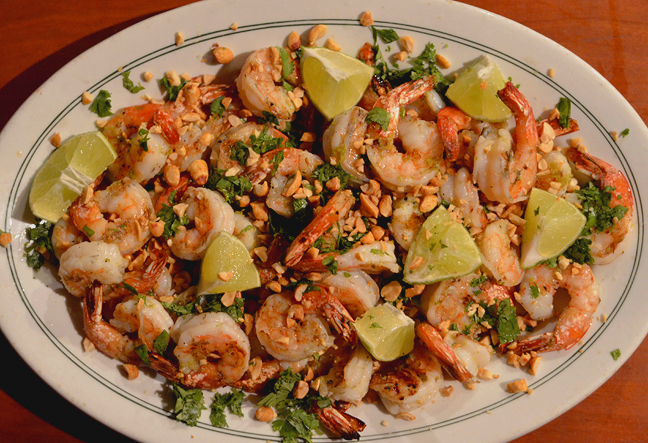 Grilled Shrimp with Lime & Cilantro