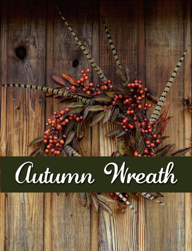 Autumn wreath - Farmgirl Follies