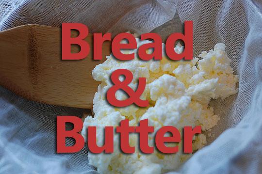 Homemade Butter - Farmgirl Follies