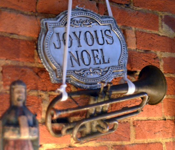 Joyous Noel and a trumpet shall sound