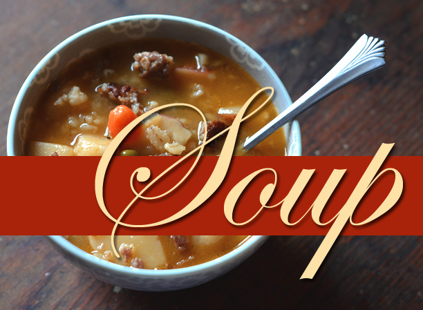 A few favorite soup recipes your family will love!