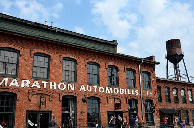 Marathon Village in Nashville, Tenn.