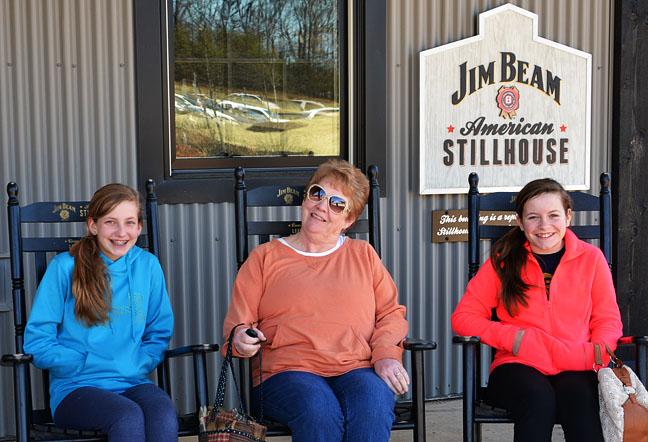 Visitors at Jim Beam Stillhouse