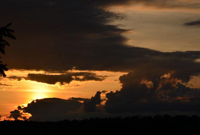 Sunset at Tuckaway Farm, June 19, 2014