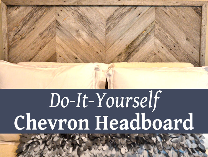 DIY Chevron Headboard Gorgeous How To Paint A Chevron Pattern