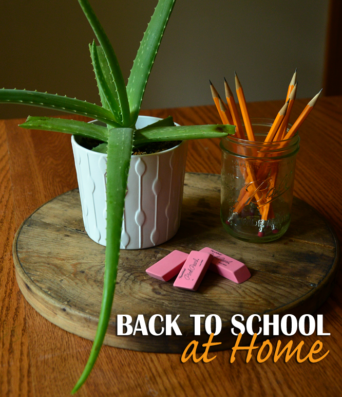 Back to School At Home