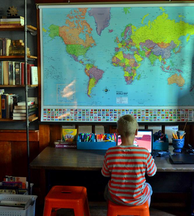Homeschool days at Tuckaway Farm