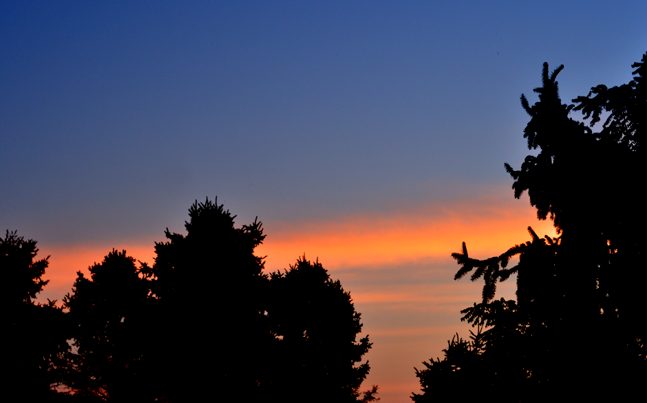 October Sunrise at Tuckaway Farm