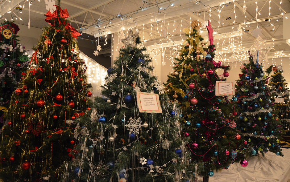 'Claus Country' Christmas trees