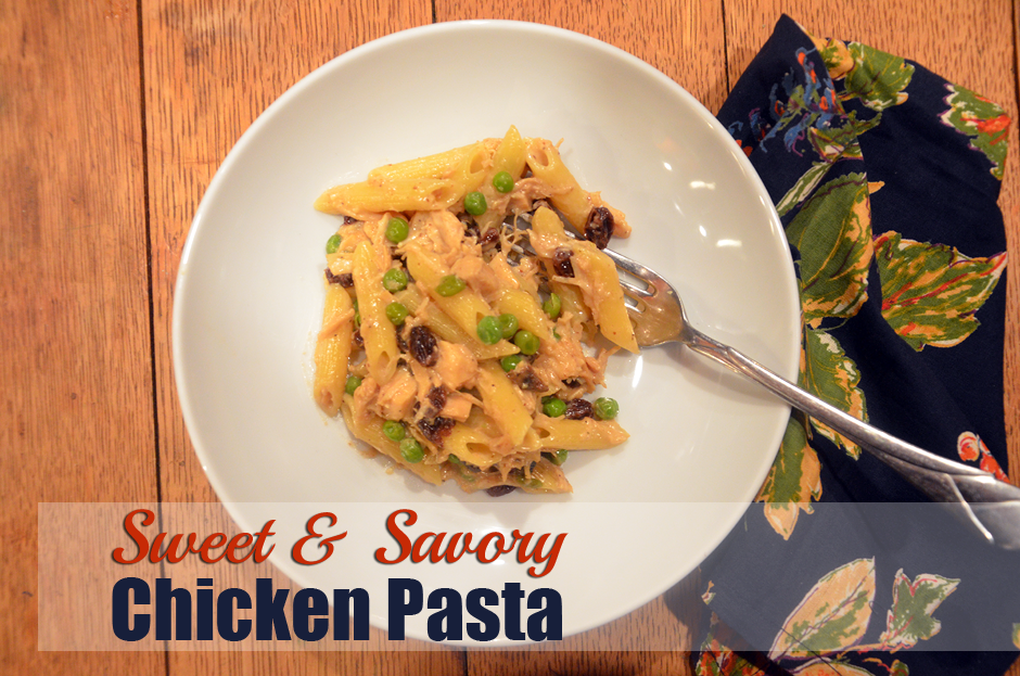 Sweet and Savory Chicken Pasta