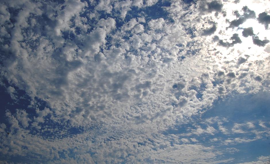 Clouds on Palm Sunday