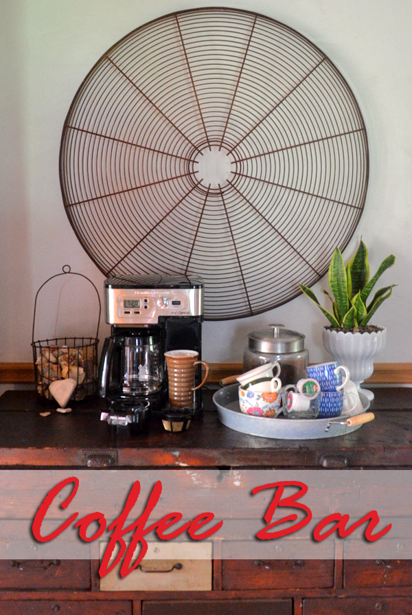 Make a convenient coffee bar with the FlexBrew 2-Way Coffee Maker!