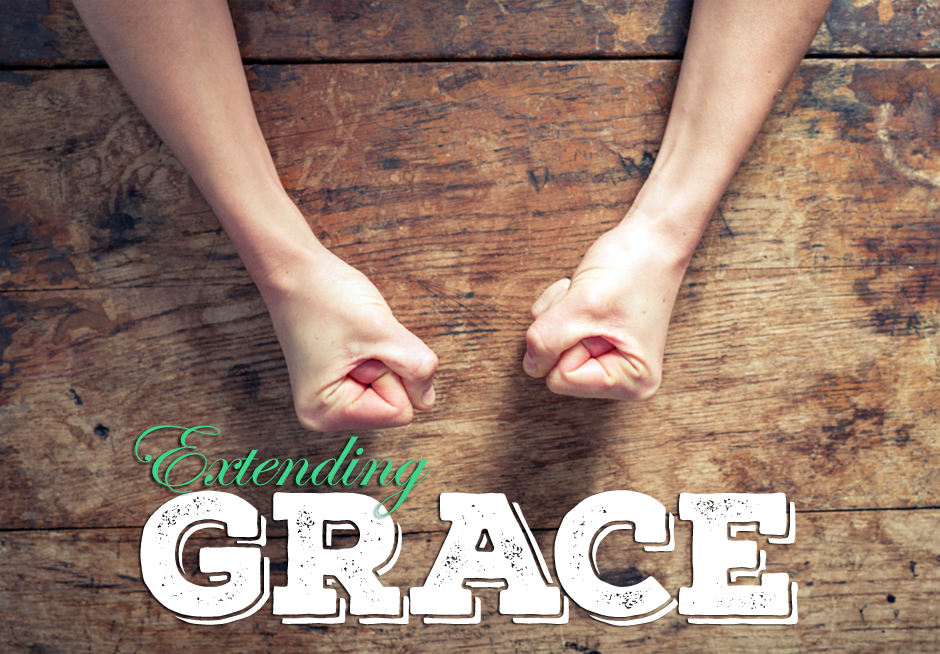 Extending grace is not an easy (or natural) thing to do.