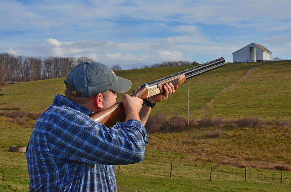 Clay pigeon shoot on Thanksgiving 2015